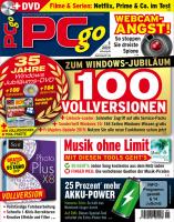 PCgo DVD Ausgabe: 5/2019