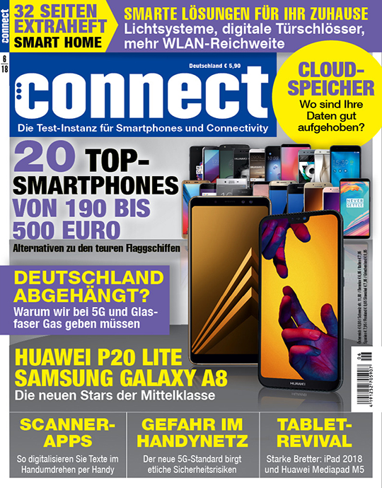 connect Ausgabe: 6/2018