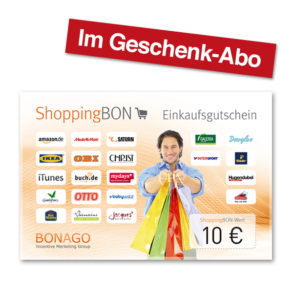 10 EUR Shopping BON.