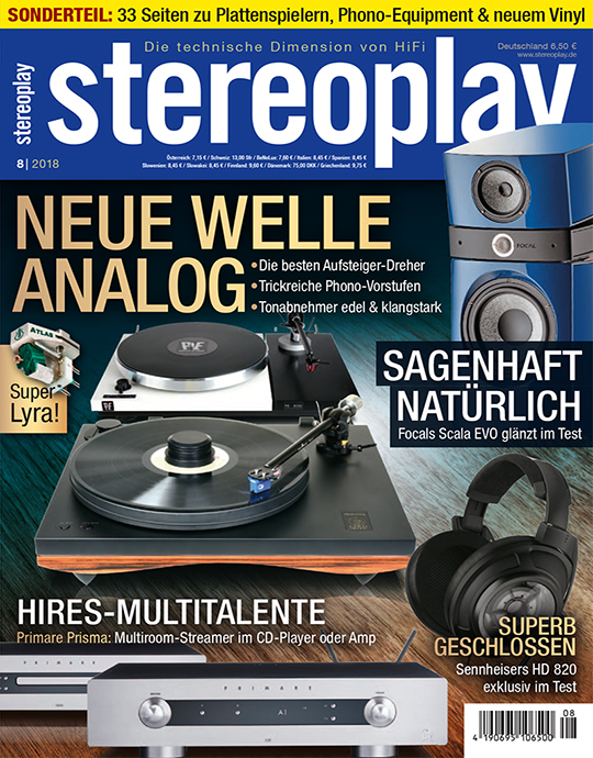stereoplay Ausgabe: 8/2018
