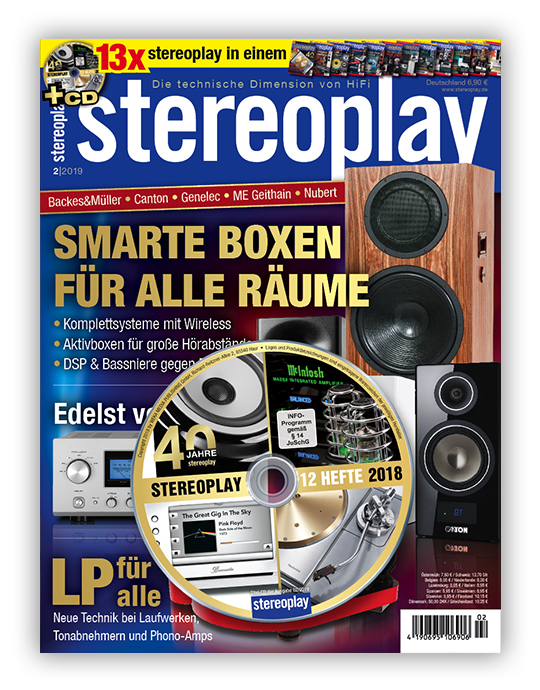 stereoplay Ausgabe: 2/2019