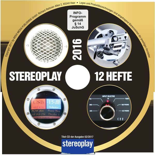 Jahrgangs-CD stereoplay 2016